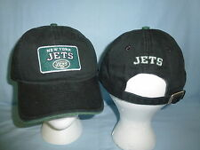 New York NY JETS  Reebok  NFL relaxed fit style CAP/HAT   NWT   Fits All   black