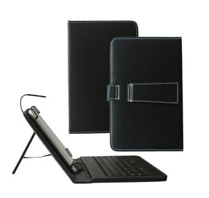 PU Leather Keyboard Stand Case Cover for Samsung Galaxy Tab A SM-T580 10.1 Inch