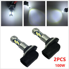 2PCS 100W LED Car Fog Driving Light Bulb 881 862 886 889 894 896 898 7000K White