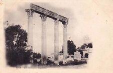 RIEZ les colonnes romaines