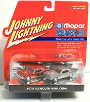 Johnny Lightning 1970 Plymouth Hemi Cuda Raw Body First Shot Mopar Muscle 1:64