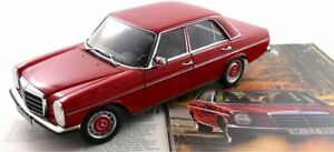 Norev Mercedes 200/8 (W115) 2 Series 1973-1976 Red 'Limited 1000 Pieces' - 1:18
