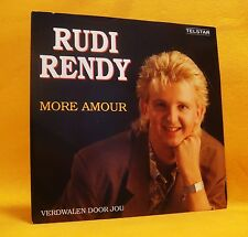 "7"" Single Vinyl Rudi Rendy More Amour 2TR 1991 (MINT) Schlager TELSTAR MEGA RARE"