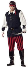 California Costumes Cutthroat Pirate Costume Adult Men's Plus Size 48-52 NEW