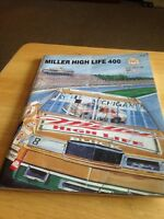 Nascar Miller High Life 400 Michigan International Speedway 1989 Program