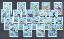 BRITISH VIRGIN ISLANDS BIRDS - 19 ST, OVP = SPECIMEN = ** MNH VF