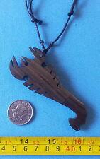 Mini Knife Filipino bolo  pendant necklace miniature blade tribal Scorpion