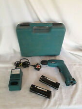 Makita 6017D Drill with 2 Batteries and Charger