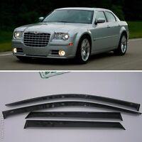 For Chrysler 300C Sd 2004-2011 Window Visors Side Sun Rain Guard Vent Deflectors