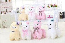 "Alpaca Plush Kawaii Top Hat Toy Gentleman Llama Arpakasso Alpacasso Doll 14"" 18"""
