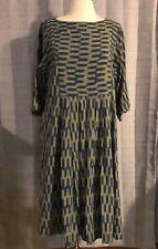 Toast Blue & Yellow Ikat Print Dress UK Size 10