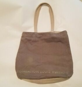 GUC Louis Vuitton Foundation Museum FONDATION LOUIS VUITTON tote bag *read