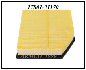 Engine Air filter  for  LEXUS  IS350   2014-2016  #17801-31170. CA 6103