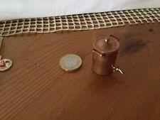 1/12th scale dolls house miniature Copper Tea Urn