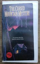 Cursed Mountain Mystery VHS RARE Phil Avalon Tom Richards Joe Bugner NOT ON DVD