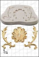 Silicone mould Baroque Shell | Food Use FPC Sugarcraft FREE UK shipping!