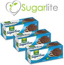Gullon Sugar Free Biscuits Dark Chocolate Digestives Biscuits x 3 packs