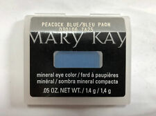 Mary Kay Mineral Eye Color & Blush - Peacock Blue - New - Full Size