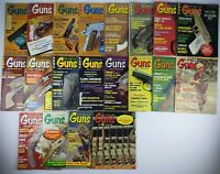 Vtg. Guns magazines Lot Of 20 From 1966 To 1971