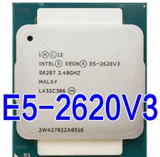 Intel Xeon SR207 E5-2620 V3 2.40GHz 6 Core 15MB  * 20