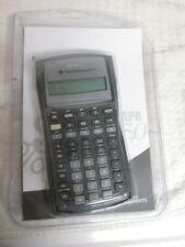 New BA II Plus Texas Instruments Buisness Analyst Calculator and manual