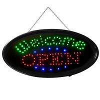 """Animated """" Welcome OPEN """" LED Neon Light for Bar Restaurant Business Sign Bright"""