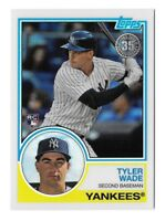 TYLER WADE 2018 Topps Series 2 1983 CHROME Silver Pack Refractor Yankees RC #97