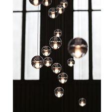 Modern Globe Crystal LED Ceiling Lighting Chandelier Light Lamp Pendant Fixture