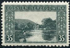 A07636 - Bosnia #39L* perf 10 1/2x12 1/2x9 1/4x12 1/2