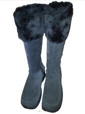 Ladies Skecher Brown Suede Boots Size 6m