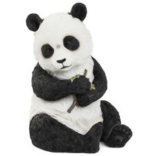 Sitting Panda Bear Statue 22cm Ornament Art Figurine Decor Animal Figure Gifts