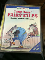 TONY ROSS' FAIRY TALES   AUDIOBOOK CASSETTE SET EX LIBRIS