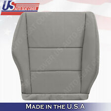 Fits 2007- 2012 Acura RDX Passenger Bottom Perforated Leather Seat Cover in Gray