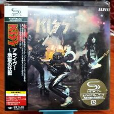 KISS - Alive! SHM-CD OBI LP Miniature CD Japan Import Sealed