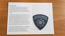 Police Service Of Northern Ireland Presentation Patch In Folder