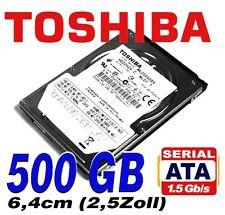 "500 GB Toshiba MQ Serie 2,5"" SATA Notebook Festplatte / 5400rpm / 8MB / NEUWARE"