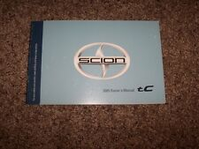 2005 Scion tC 2.4L 4Cyl Operator User Guide Owner Owner's Manual