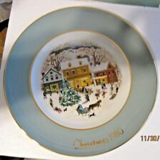 Lot of 3 Avon Christmas plates 1978-1980 Enoch Wedgwood in boxes