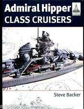 Shipcraft # 16 - ADMIRAL HIPPER CLASS CRUISERS ( German ) Steve Backer SB new