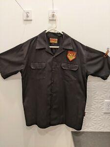 Mens Dragonfly Brand shirt large - KISS Army