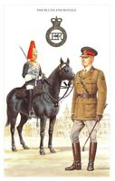 Postcard The British Army Series No.2 The Blues and Royals by Geoff White