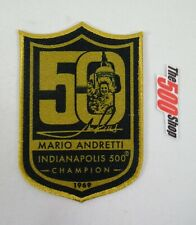 Celebrating Mario Andretti 50th Anniversary 1969 Indianapolis 500 Champion Patch