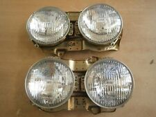 NISSAN VIOLET 710 160J Head light Datsun 160J Front Lamps L+R Nos New old stock