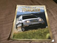 1991 Suzuki Chevrolet GEO Tracker USA Market  Brochure Catalog Prospekt