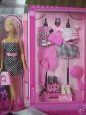 "Barbie ""Pink"" Series 12 Inch Doll Set - Barbie Doll p1708"