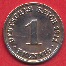 Münze Deutsches Reich - 1 Pfennig - 1911 A