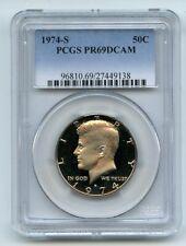 1974 S 50C Kennedy Half Dollar Proof PCGS PR69DCAM
