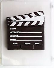 CLAPBOARD CLEAR PLASTIC CHOCOLATE CANDY MOLD LCA001