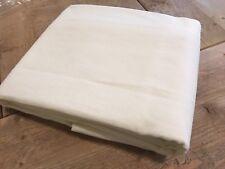 Restoration Hardware RH  Brushed Belgian Linen drapery curtain panel rod pocket