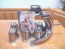 SALADMASTER V Machine Versa Tec Food Processor Vegetable Cutter Slicer Shredder